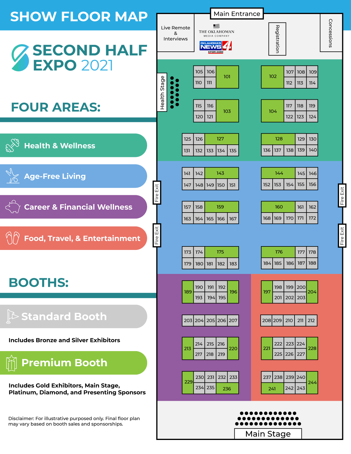 floor map 2021